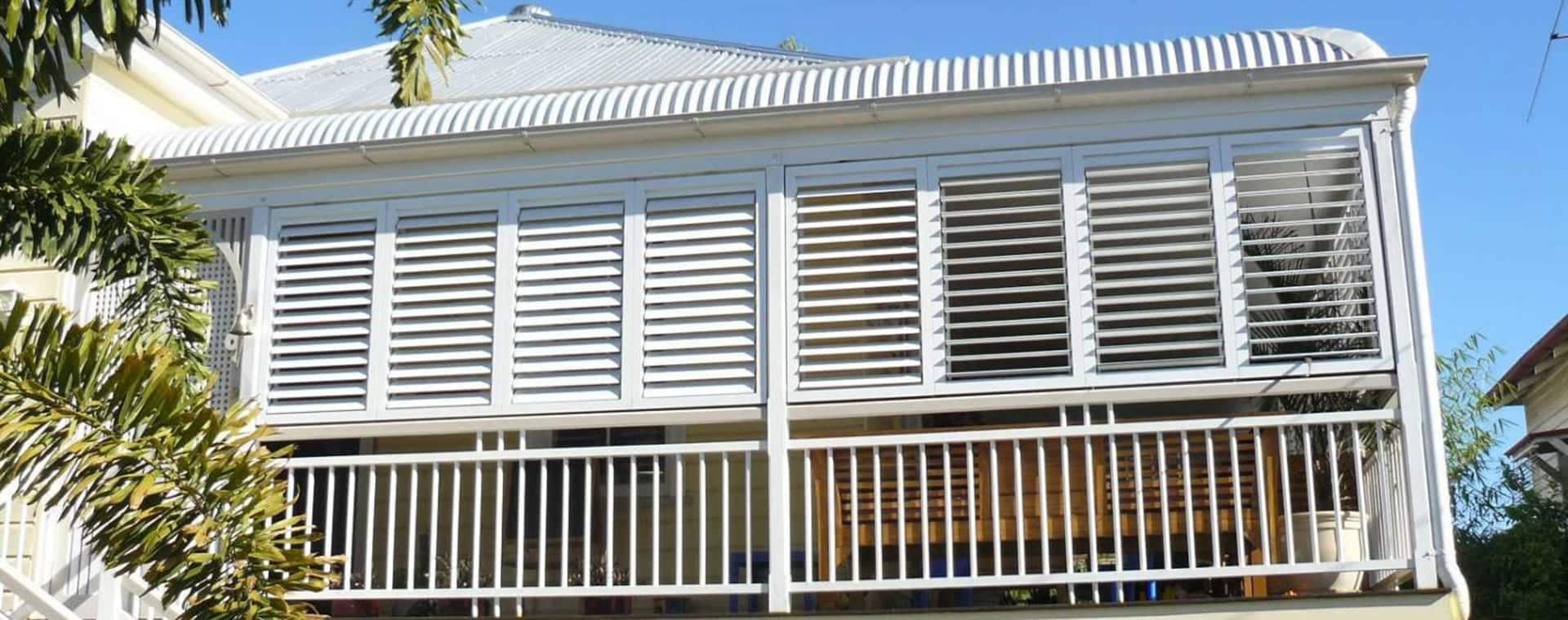 Outdoor Aluminium Shutters Brisbane To Ipswich Aluminium