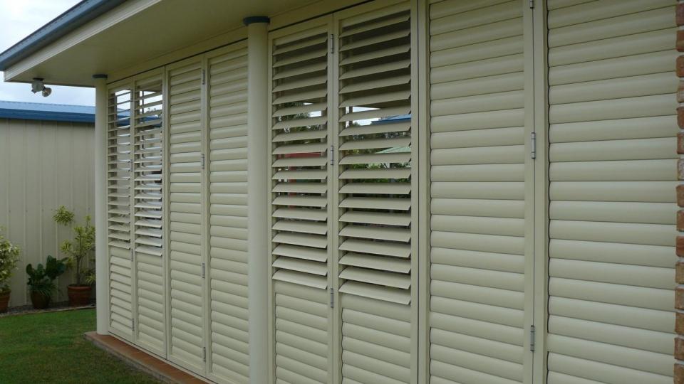 Bi-fold Brisbane External Shutter