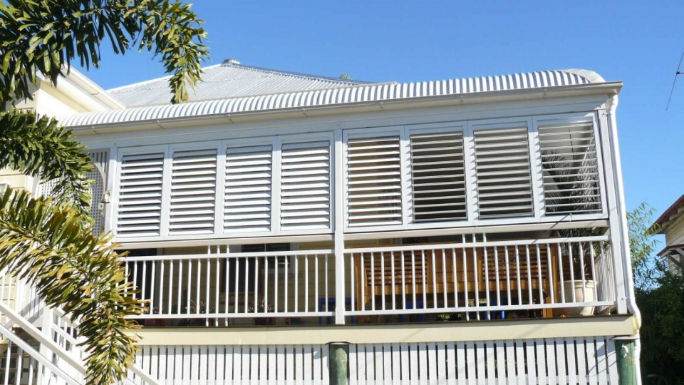 Queenslander Outdoor Fixed Shutters